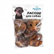Природа Лакомство для собак ТМ Природа 100 грамм свиные пятаки