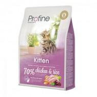 Корм для кошек Profine Cat Kitten 2 кг для котят, с курицей и рисом