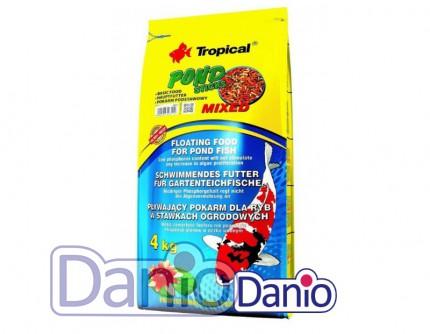 ККорм Tropical Pond Sticks Mixed 50л/4кг полнорационный корм для