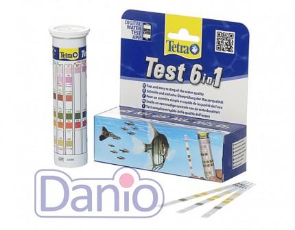 Экспресс-тест Tetra Test 6 in1 набор полосок