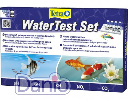 Набор тестов Tetra Water Test Set мини лаборатория рН, GH, KH, N