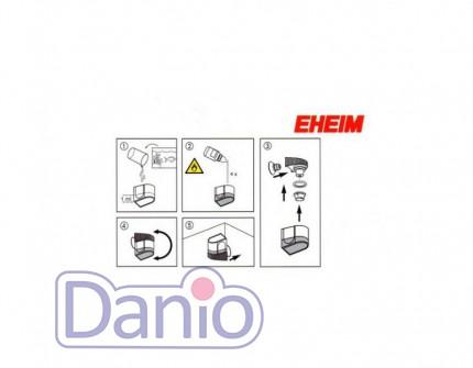 Дропчекер Eheim с реагентом и мерными полосками для систем СО2