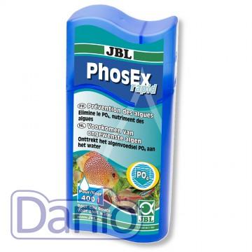 JBL (Германия) Кондиционер JBL PhosEx rapid 100мл, для удаления фосфатов из подготавливаемой воды на 400л - Картинка 1