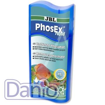JBL (Германия) Кондиционер JBL PhosEx rapid 250мл, для удаления фосфатов из подготавливаемой воды на 1000л - Картинка 1