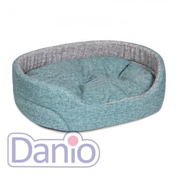 Лежак для собак и кошек ТМ Природа Омега 92 x 68 x 21 см, серо-б